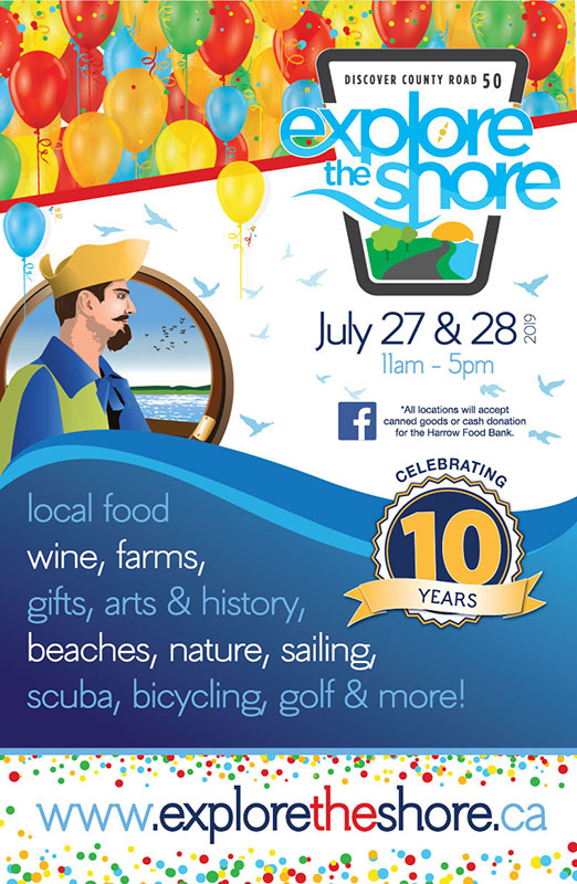 Explore The Shore 2019 poster